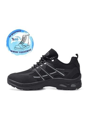 Slazenger Erkek Su Geçirmez Kışlık Sneakers HAWK E Siyah